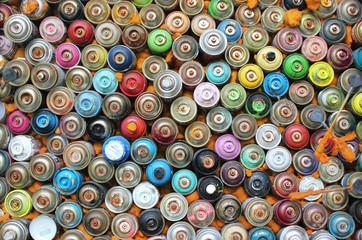 Graffiti Sprühflaschen