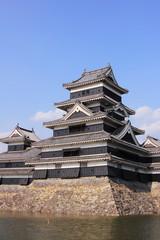 日本の城、松本城