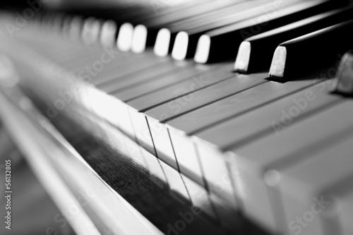 piano keyboard - 56132805