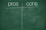 pros and cons columns