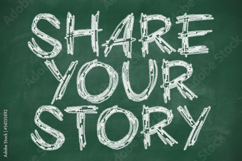 share your story phrase