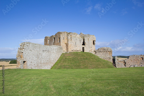 Duffus Castle ruins Poster