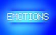 EMOTIONS BLUE