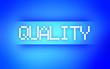 QUALITY BLUE