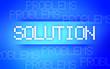 SOLUTION BLUE