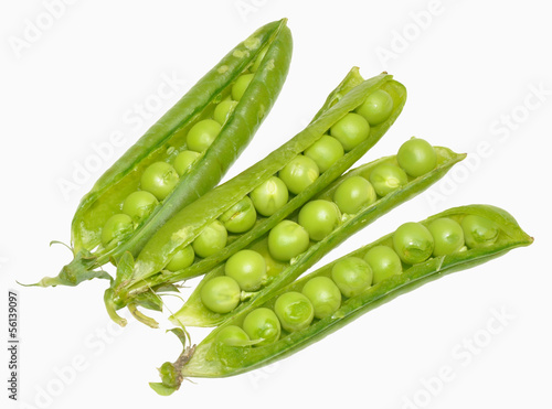Green Peas And Pods