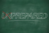 Turning the word Unprepared into Prepared