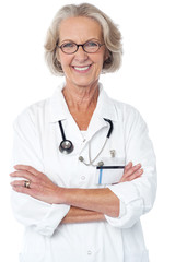 Experienced female physician