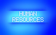 HUMAN RESOURCES BLUE
