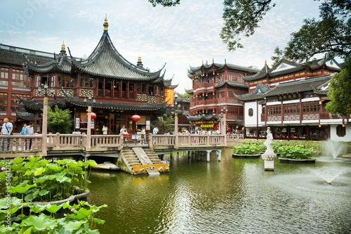 Fotobehang Tuin Yu Garden, Shanghai - China