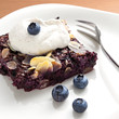 Blueberry chia cake