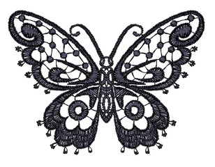 Lacy butterfly.