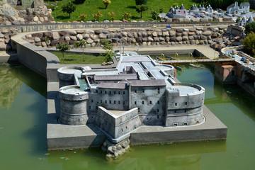castello fortificato - parco Italia in miniatura
