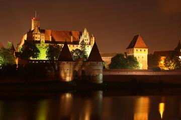 castello dei fratelli teutonici a Malbork, Polonia