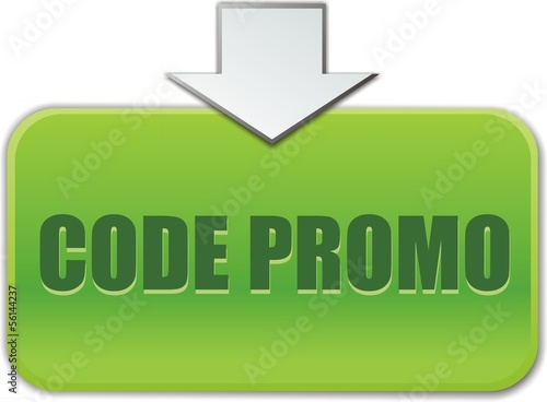 bouton code promo