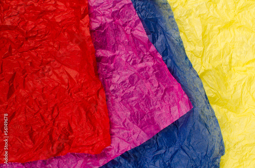 Assorted tissue paper