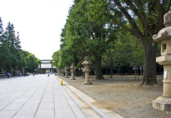 靖国神社 参道