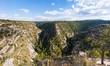 Walnut Canyon under the blue sky