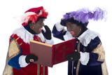 Zwarte Piet and the book of Sinterklaas