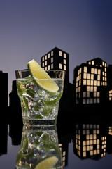 Metropolis Mojito cocktail