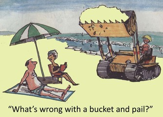 Bucket and pail