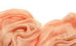 Peach background with drapery