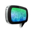 Glossy Pad Talk Cloud Futuristic Device