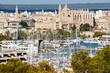 Leinwandbild Motiv Palma de Mallorca port
