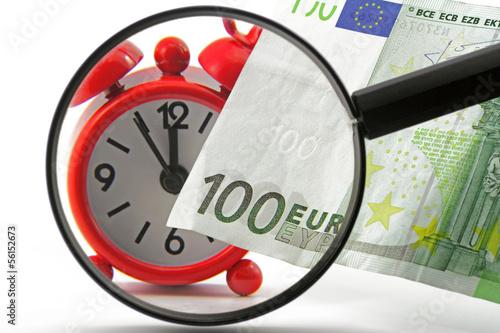 wecker mit euro