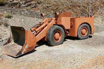 Escavatrice usata in mineira