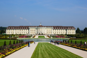 Residenzschloss in Ludwigsburg