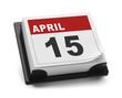 Leinwandbild Motiv Tax Day