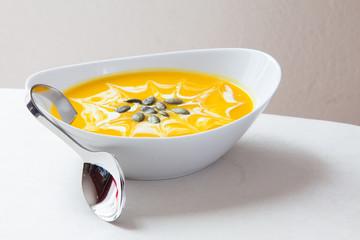 Kürbiscreme Suppe 11