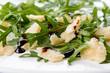 Formaggio parmigiano, rucola e aceto balsamico