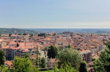 La città di Biella - Italia