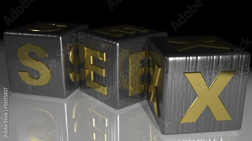SEX metallic cubes