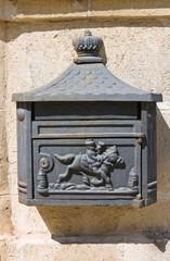Postbox. Manduria. Puglia. Italy.