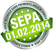 "Button Banner ""SEPA"" green/silver"