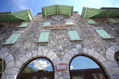 gare de bourg saint maurice - savoie