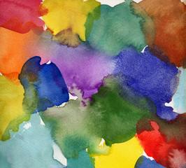 aquarell abstrakt farbflächen