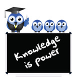 Knowledge message on blackboard