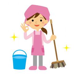 清掃員 女性