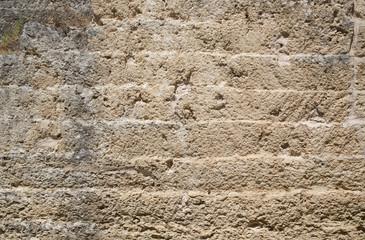Muro di pietra leccese