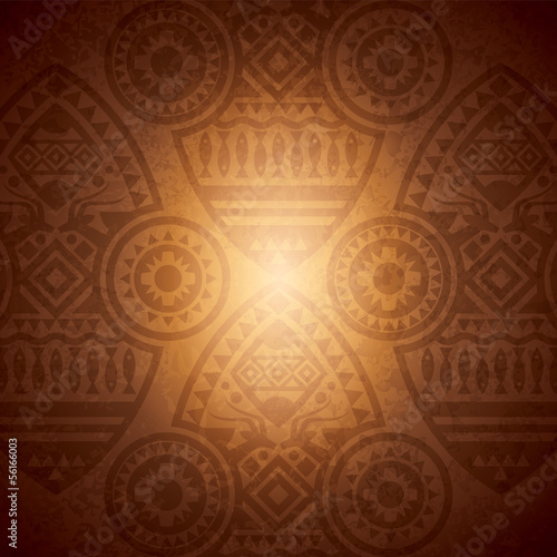 African background design template for cover design.
