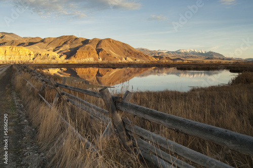 Beautiful Landscape Western United States Idaho Ranch Land