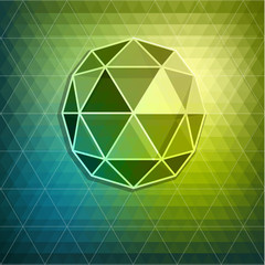 Abstract diamond background