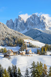 Santa Maddalena in winter
