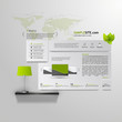 Abstract Eco website