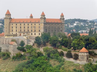 Bratislava Castle before reconstruction