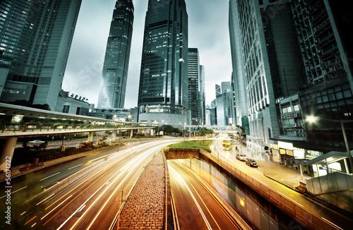 Gedrängter Hongkong